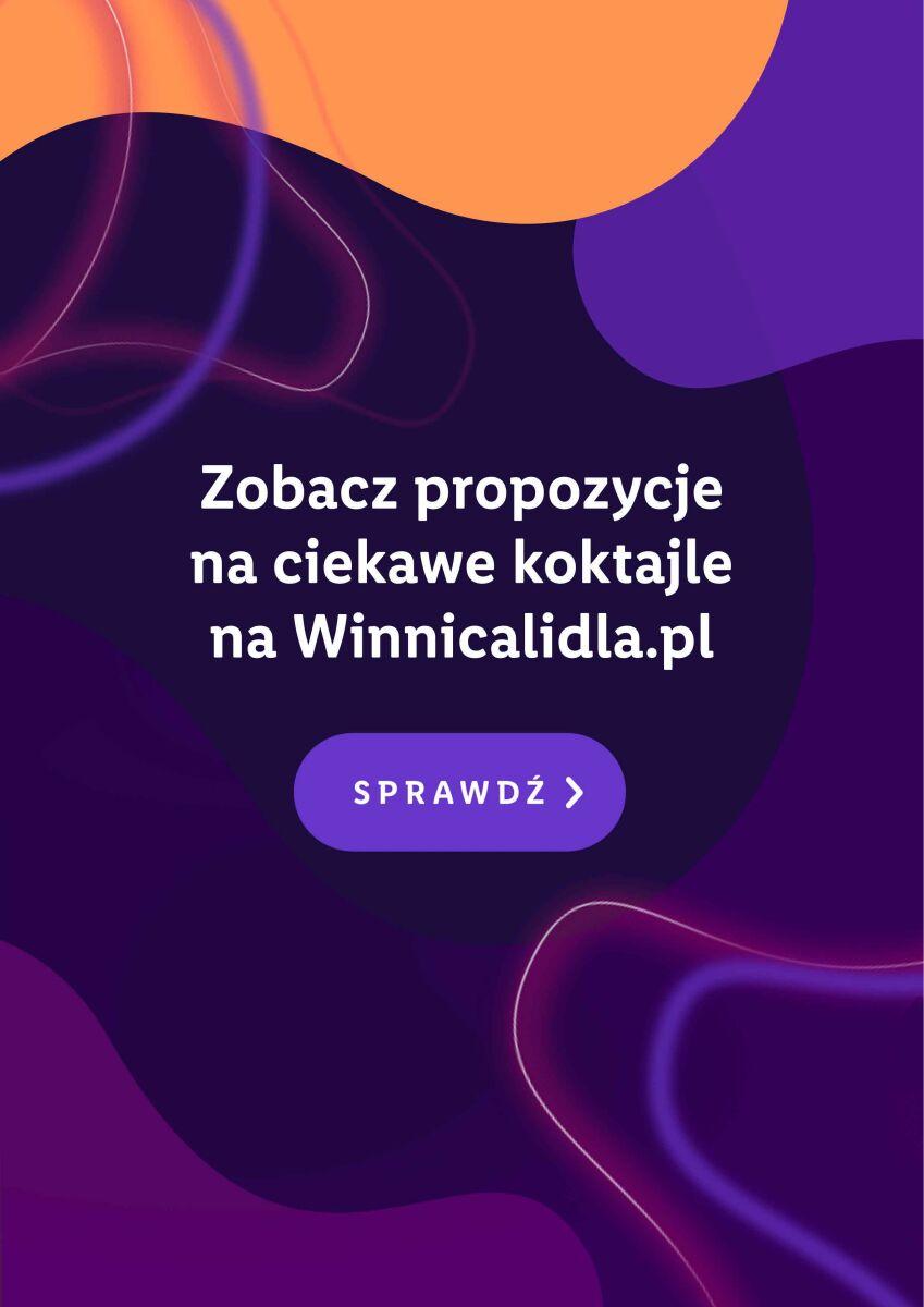 Gazetka CIEKAWE KOKTAJLE NA WINNICALIDLA.PL