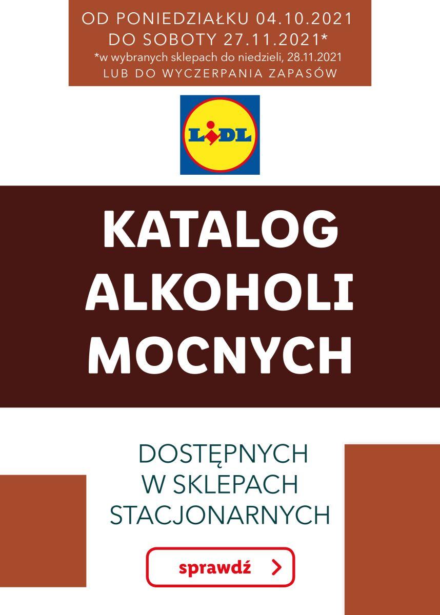 Gazetka KATALOG ALKOHOLI MOCNYCH