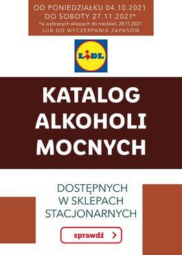 KATALOG ALKOHOLI MOCNYCH - od 2021-10-04 do 2021-11-28