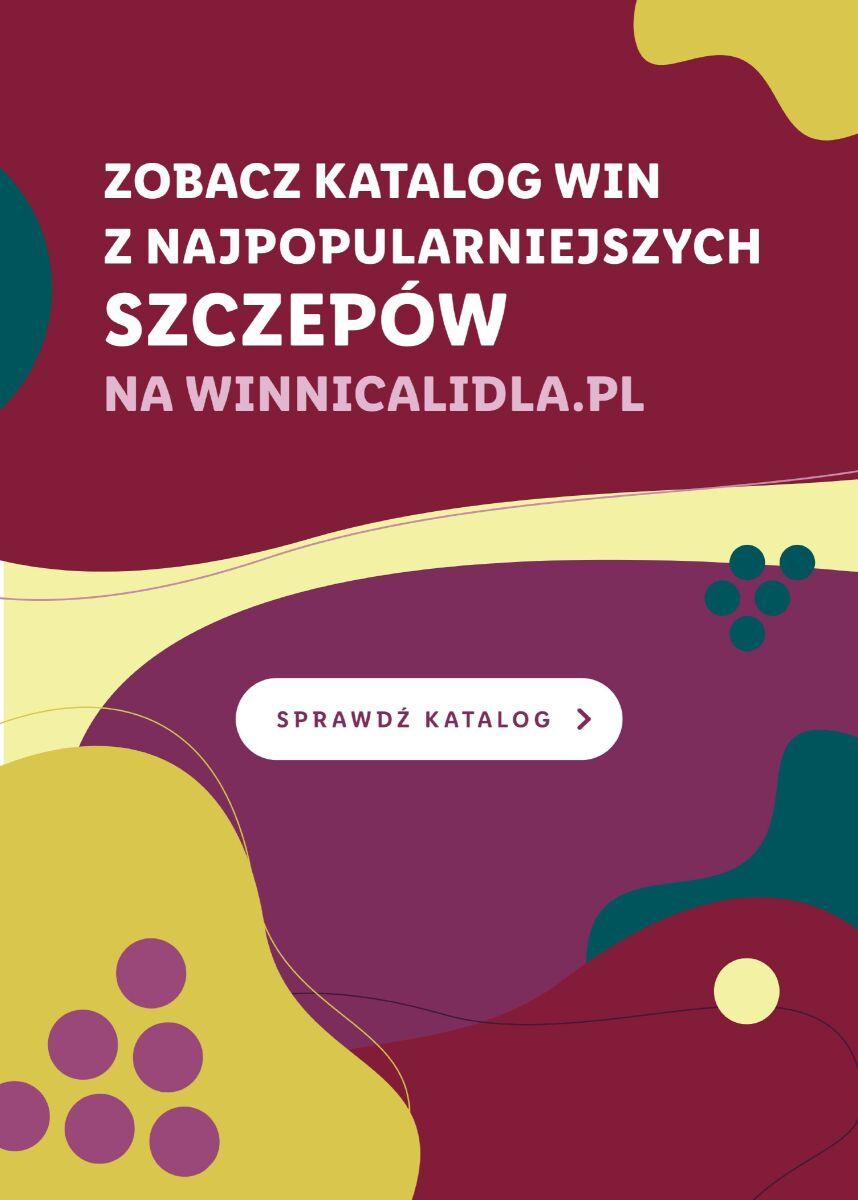 Gazetka KATALOG WIN Z NAJPOPULARNIEJSZYCH SZCZEPÓW NA WINNICALIDLA.PL