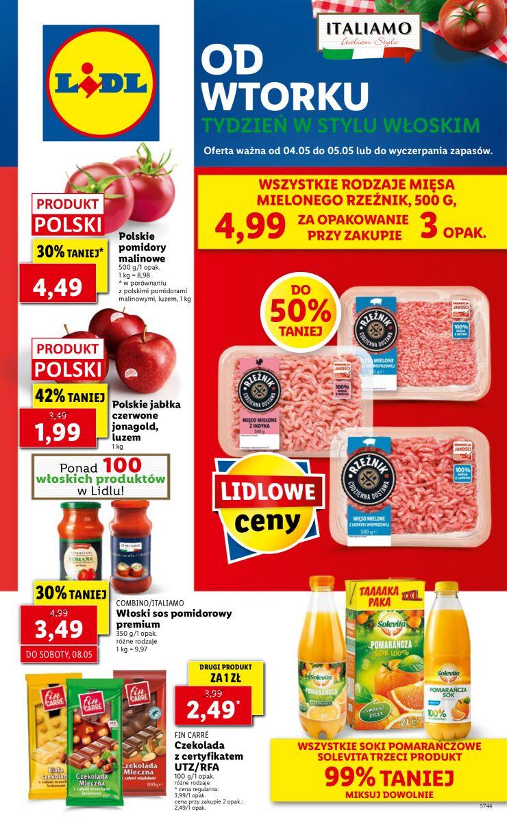 Gazetka OFERTA WAŻNA OD 04.05 DO 05.05