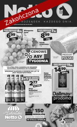 Gazetka spożywcza Netto t. 29/21 - od 2021-07-19 do 2021-07-24