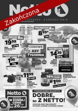 Gazetka spożywcza Netto t. 37/21 - od 2021-09-13 do 2021-09-18