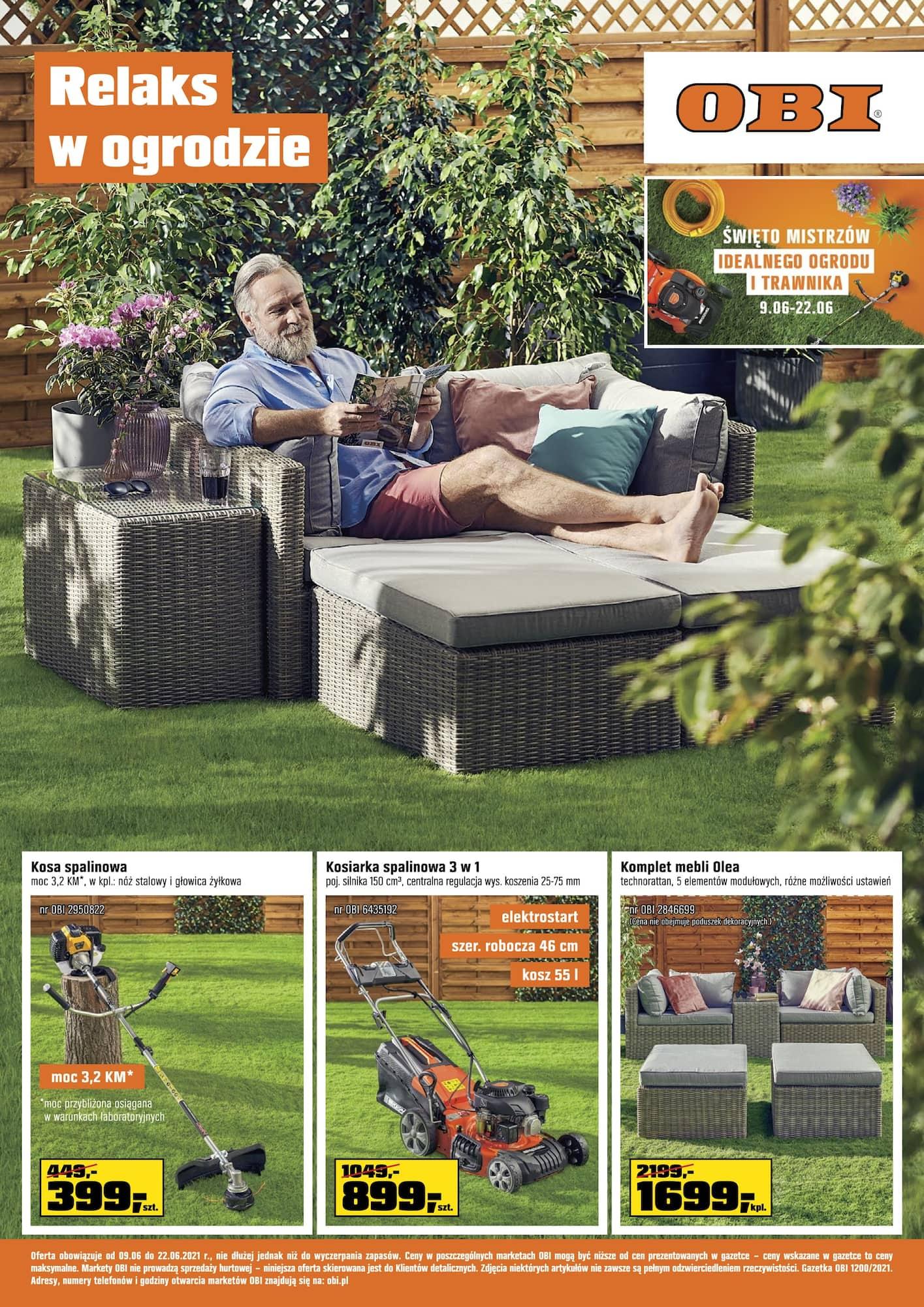 Gazetka Relaks w ogrodzie