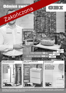 Odmień swoją łazienkę - od 2021-08-18 do 2021-08-31