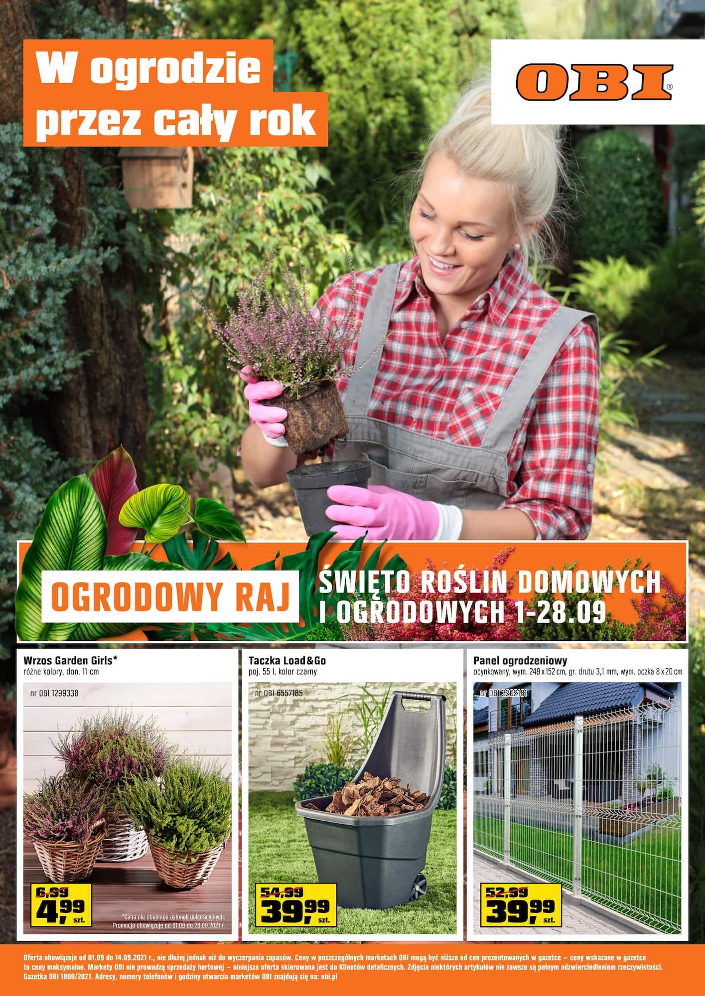 Gazetka W ogrodzie przez cały rok