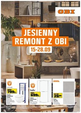 JESIENNY REMONT Z OBI - od 2021-09-15 do 2021-09-28