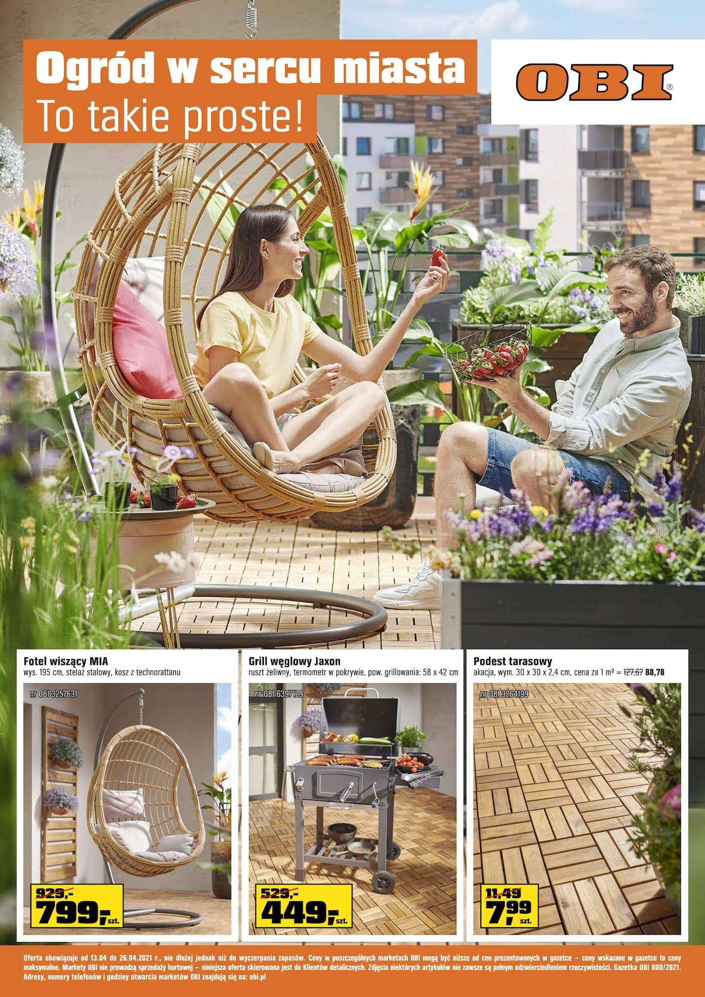 Gazetka Ogród w sercu miasta. To takie proste!