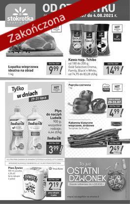 Supermarket - od 2021-07-29 do 2021-08-04