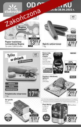 Supermarket - od 2021-04-22 do 2021-04-29