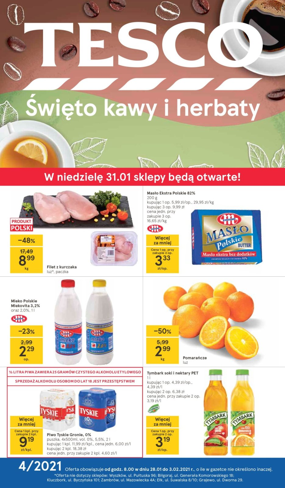 Gazetka Tesco gazetka