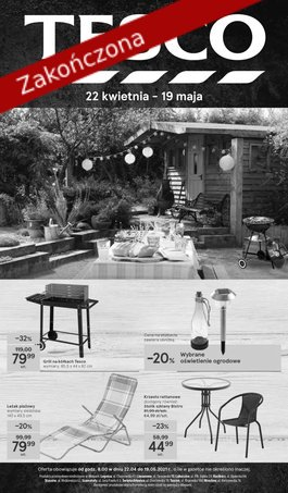 Tesco katalog Ogród - od 2021-04-22 do 2021-05-19
