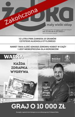 Gazetka Żabka - od 2021-06-28 do 2021-07-11
