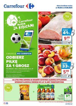Gazetka Carrefour - od 2021-06-15 do 2021-06-27