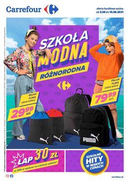 Gazetka Szkoła modna różnorodna - od 2021-08-03 do 2021-08-14