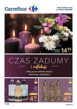 Gazetka Kwiaty i znicze - od 2021-10-12 do 2021-10-24