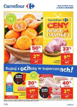 Gazetka Carrefour - od 2021-01-12 do 2021-01-18