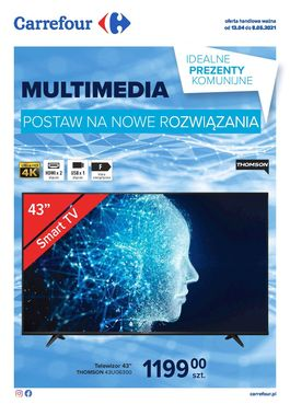 Gazetka Multimedia - od 2021-04-13 do 2021-05-08