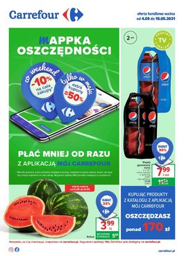 Gazetka Carrefour - od 2021-05-04 do 2021-05-15