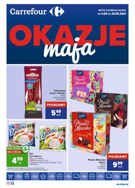 Gazetka Okazje Maja - od 2021-05-04 do 2021-05-29