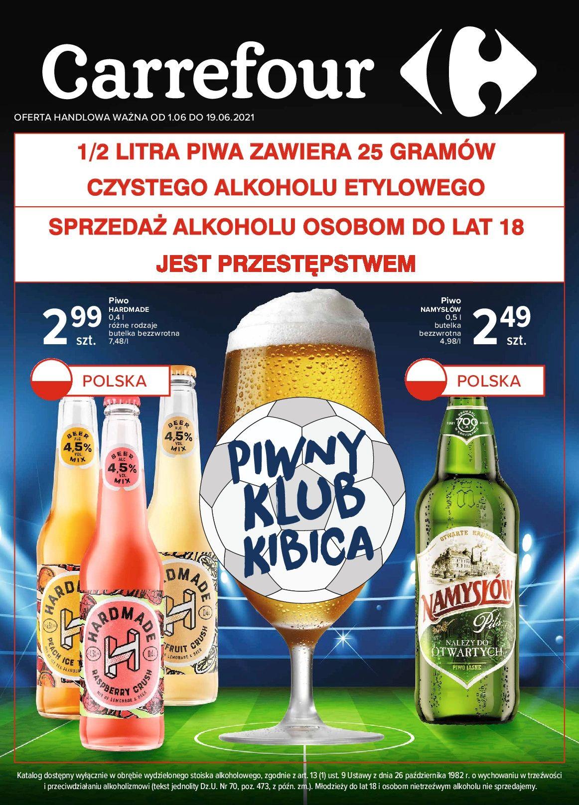 Gazetka Gazetka Piwny klub kibica