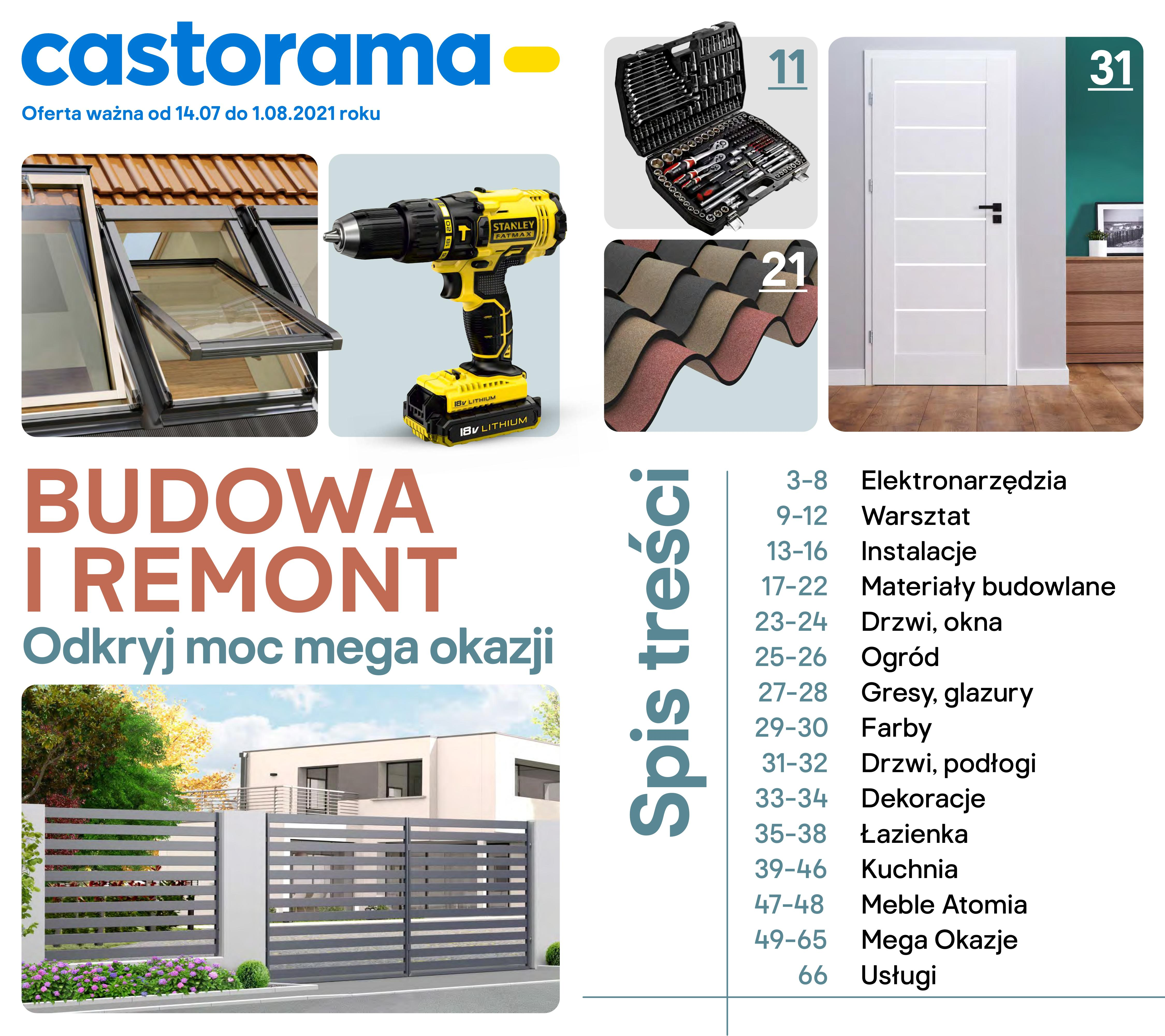 Gazetka Gazetka Castorama
