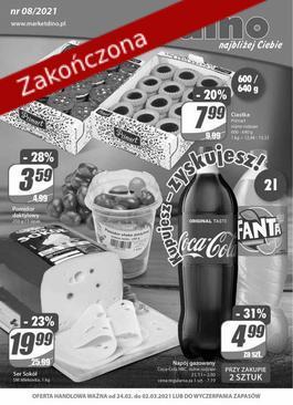 Gazetka Dino - od 2021-02-24 do 2021-03-02